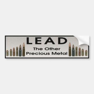 Avance - l'autre métal précieux autocollant de voiture