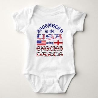 Avant anglais de pièces t-shirts