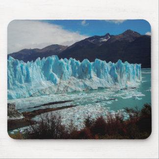 Avant de glacier de Perito Moreno dans les Andes Tapis De Souris