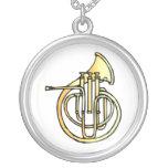 Avant en forme de corne français d'instrument fais pendentifs