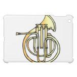 Avant en forme de corne français d'instrument fais coque iPad mini