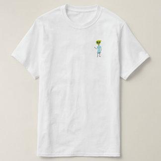 Avant et dos supplémentaires de teresticle t-shirt