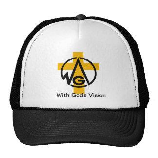 Avec la vision de dieux casquette de camionneur
