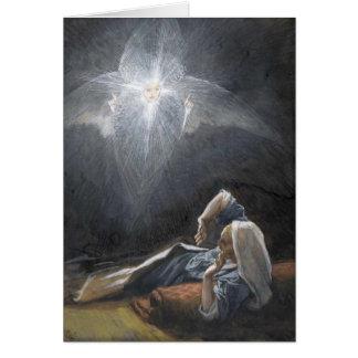 """Avènement de St Joseph de Tissot """"la vision"""" Carte De Vœux"""