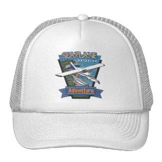Aventure d'aviation d'hydravion casquette de camionneur