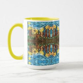 Aventure jaune aztèque mug