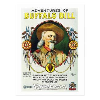 Aventures de carte postale de Buffalo Bill