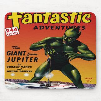 Aventures fantastiques - géant de Jupiter Mousepad Tapis De Souris