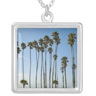 Avenue de Cabrillo, Santa Barbara, la Californie Pendentif Carré