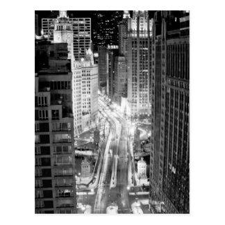 Avenue du nord du Michigan Chicago après l'hiver Cartes Postales