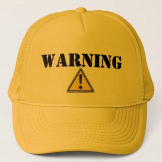 AVERTISSEMENT - casquette de camionneur