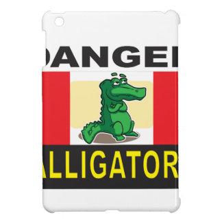 avertissement d'alligator de danger coques iPad mini