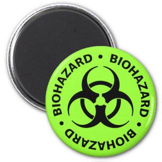 Avertissement de Biohazard Aimant