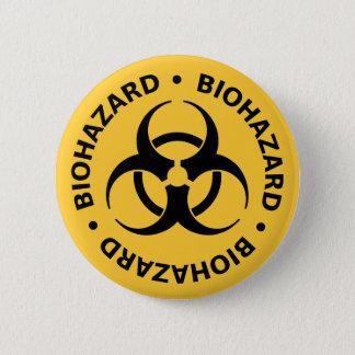 Avertissement de Biohazard Badges