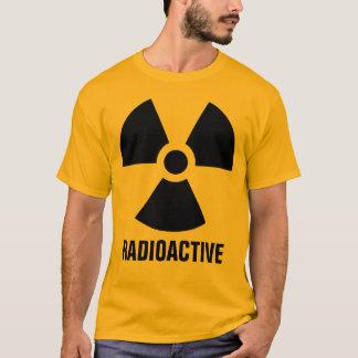 Avertissement de matériel radioactif t-shirt