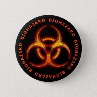 Avertissement de zombi de Biohazard Pin's