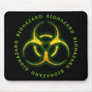 Avertissement de zombi de Biohazard Tapis De Souris