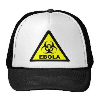 Avertissement d'Ebola Casquettes