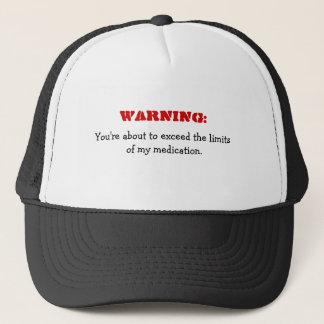 Avertissement : Dépassement de mon casquette drôle