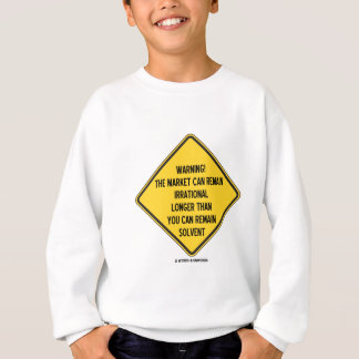 Avertissement ! Le marché peut demeurer plus long T-shirts