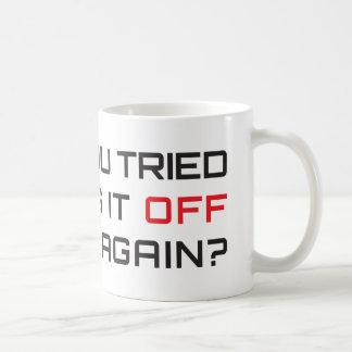 Avez-vous essayé de le tourner par intervalles mug blanc