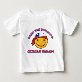 Avez-vous étreint un Chilien aujourd'hui ? T-shirt Pour Bébé