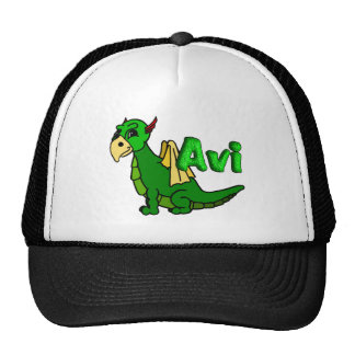 Avi (avec le nom) casquette trucker