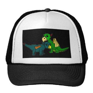 Avi et picotin casquettes de camionneur