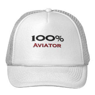 Aviateur de 100 pour cent casquette de camionneur