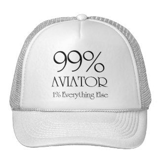 Aviateur de 99% casquettes