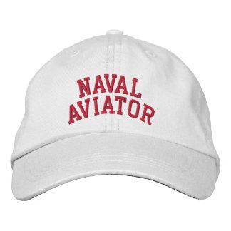 Aviateur naval casquette brodée