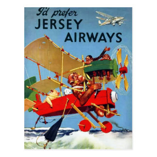 Aviation vintage - carte postale