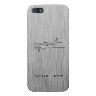 Avion balayé de Métal-regard Étui iPhone 5