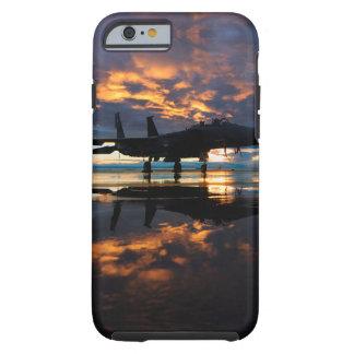 Avion d'avion de chasse aux cadeaux de militaires coque iPhone 6 tough