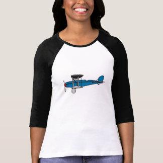 Avion de biplan t-shirt