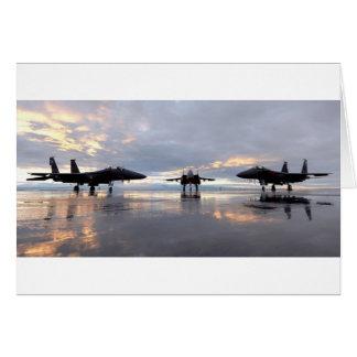 Avion de chasse de F-15 Eagle Cartes