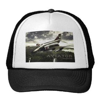 Avion de chasse du fantôme F-4 Casquette Trucker