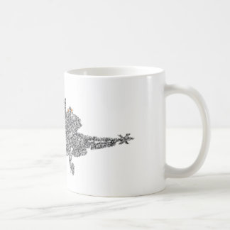 Avion de chasse du frelon F18 - charge statique - Mug