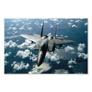Avion de chasse photo sur toile