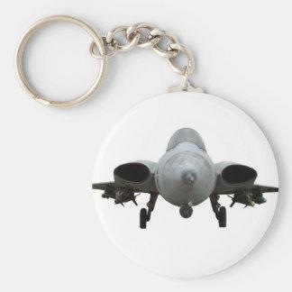 Avion de chasse porte-clés