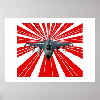 Avion de chasse posters