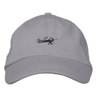 Avion de combat casquette brodée