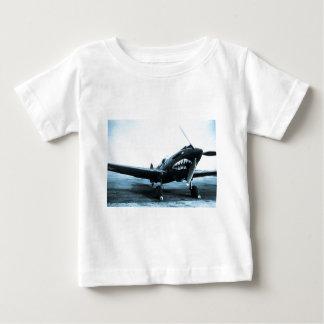 Avion de combat de Flying Tigers Curtiss P-40 de T-shirt Pour Bébé