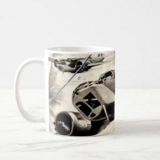 Avion de guerre mug