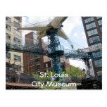 Avion de musée de ville, musée de St LouisCity Cartes Postales