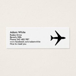 Avion Mini Carte De Visite