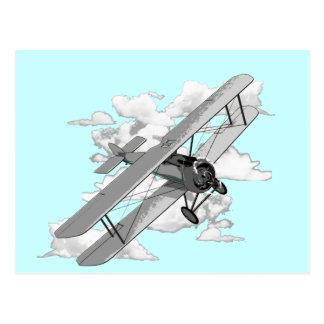 Avion vintage cartes postales