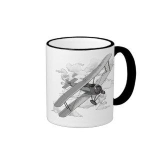 Avion vintage tasses à café