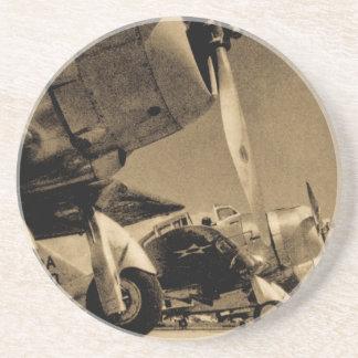 Avions courageux de bombardier de SBD de Douglas Dessous De Verre