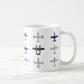 Avions de la tasse de Guerre de Corée